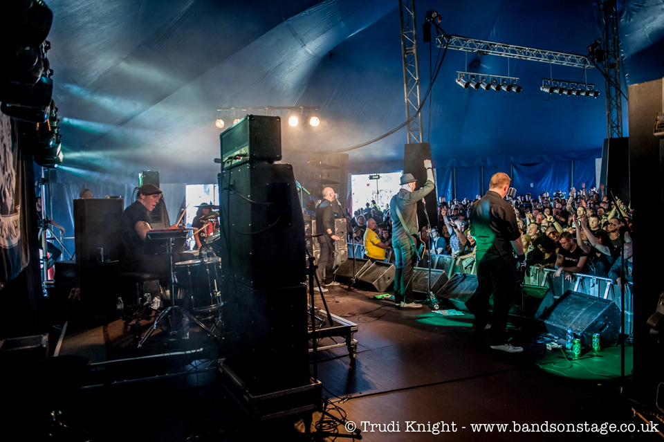 Eureka Machines at Sonisphere, picture by Trudi Knight