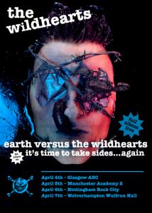 Earth vs The Wildhearts 20th anniversary tour